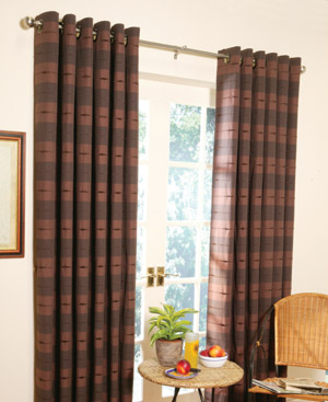 curtain express eyelet curtain heading. Black Bedroom Furniture Sets. Home Design Ideas
