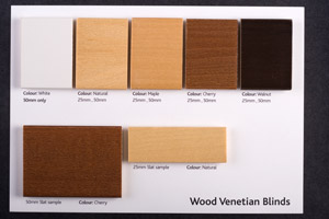 Wood card example